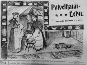 Cover of Palvejitarlehti (Maids' Journal)