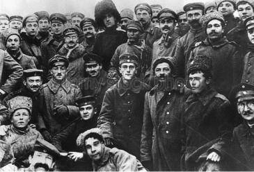 Raternization Russia Germany 1918