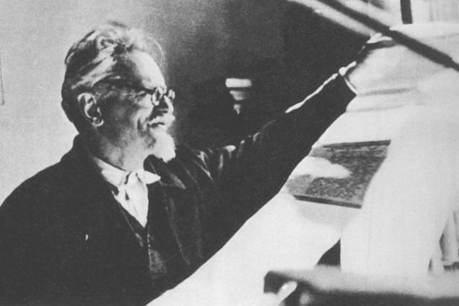 Trotsky views MS